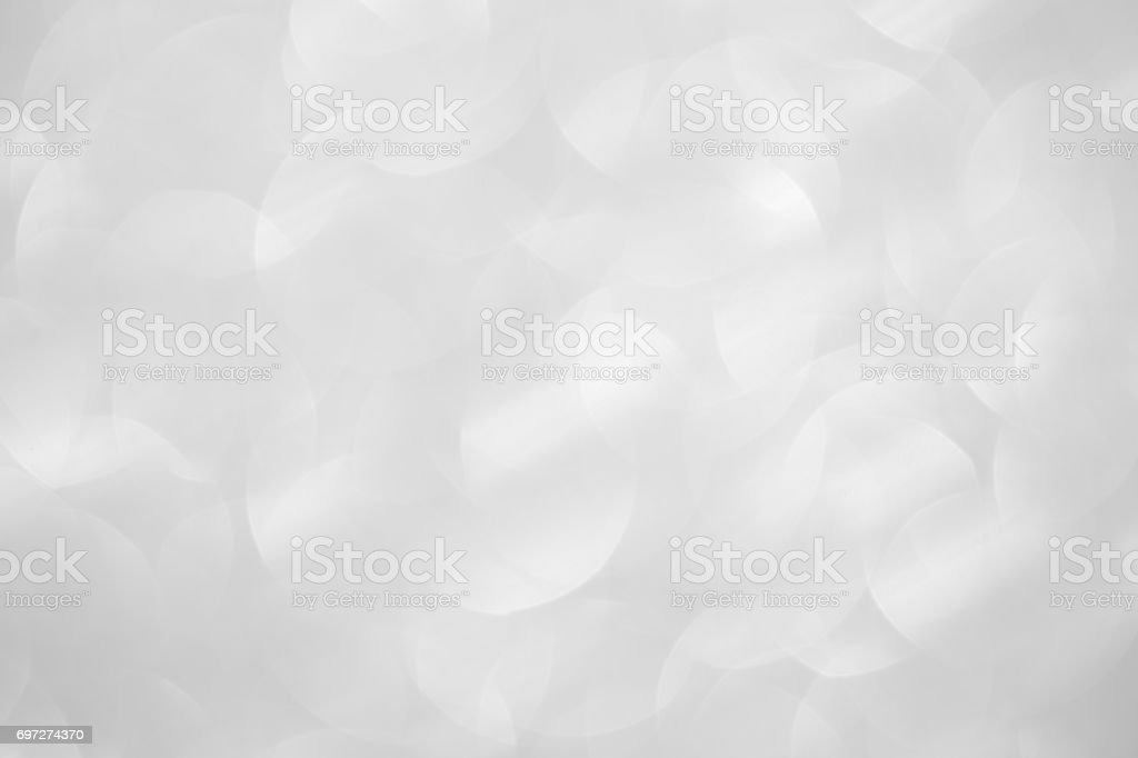 Silver Glitter Abstract Background stock photo