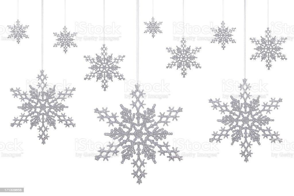 Silver Glitter Schneeflocken! – Foto