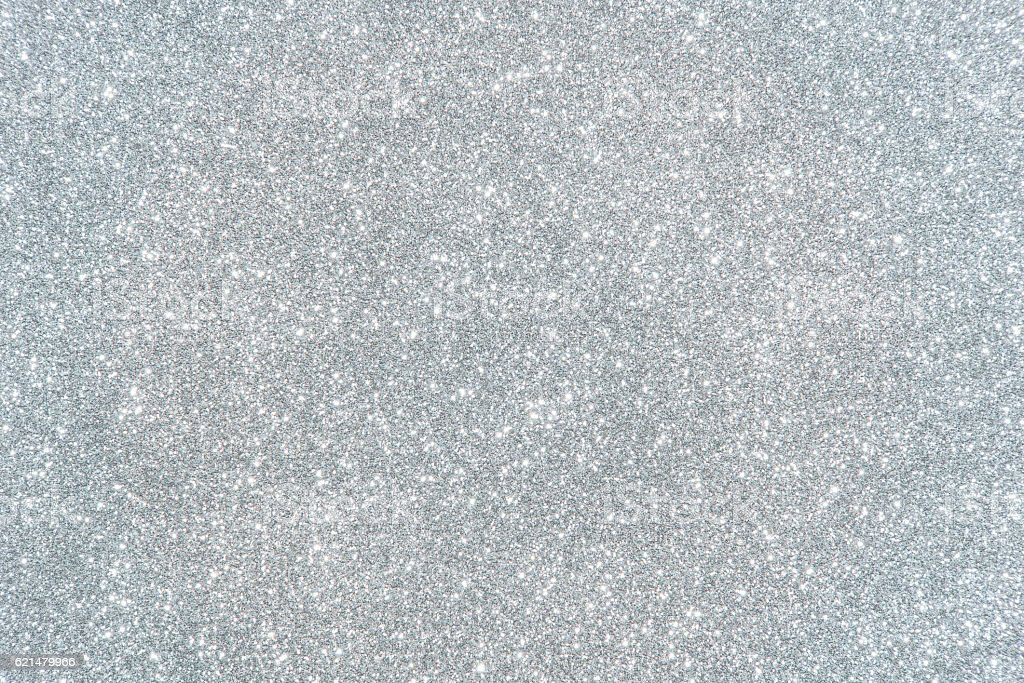silver glitter Textur abstrakt Hintergrund – Foto