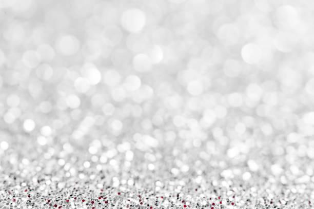 silver glitzernden hintergrund - verlobungsfeier einladungen stock-fotos und bilder