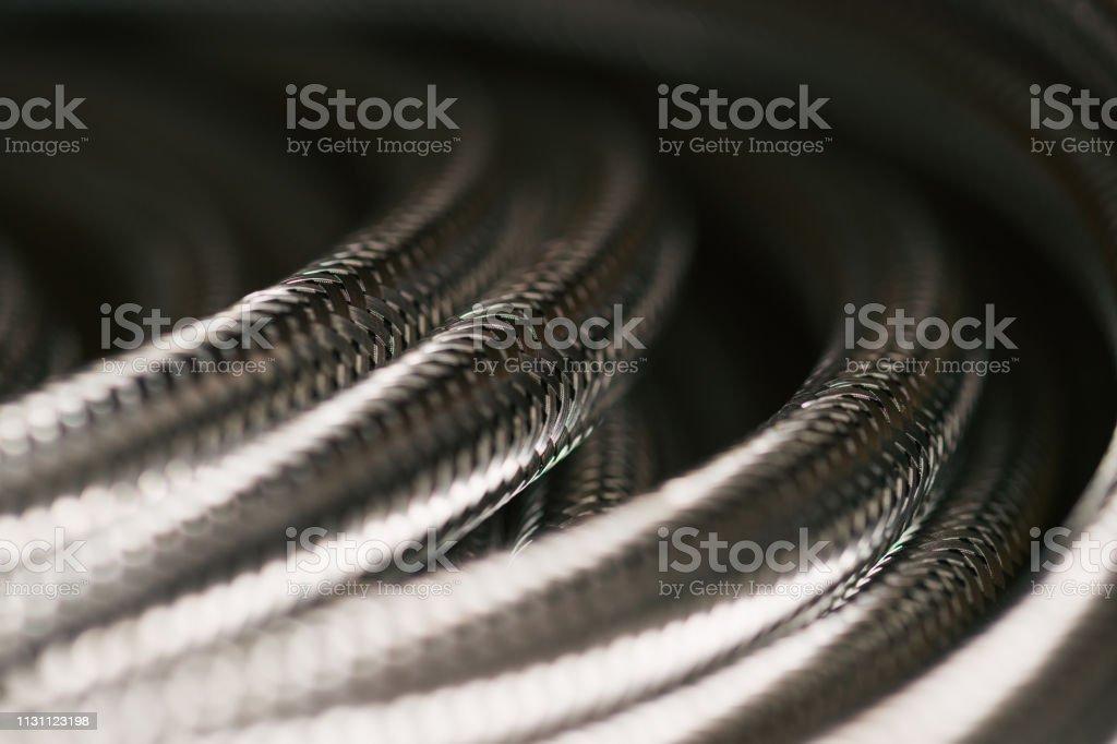 Silberschlauch Detail – Foto