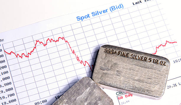 Silver Investing stock photo