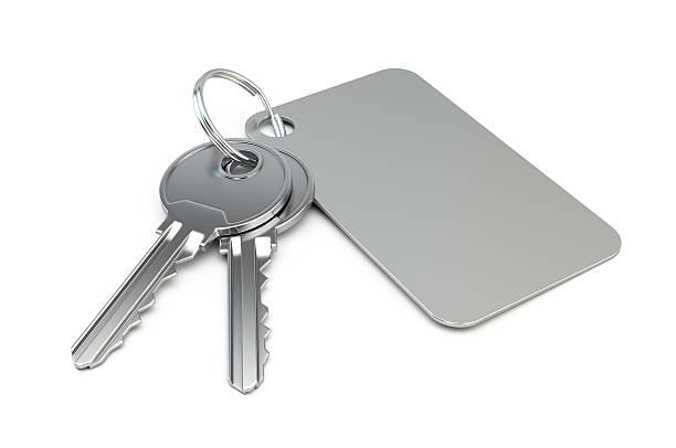 Schlüssel mit leeren label – Foto