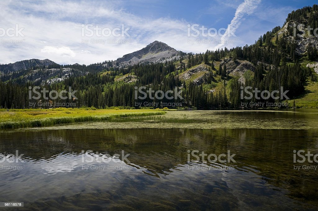 Lago Silver riflessione foto stock royalty-free