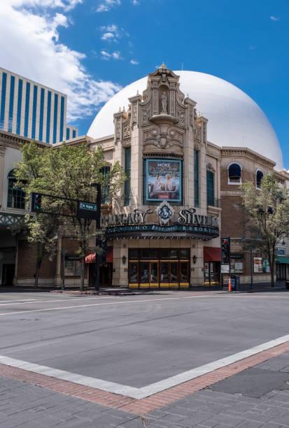 Silver Legacy Resort Casino in Reno stock photo