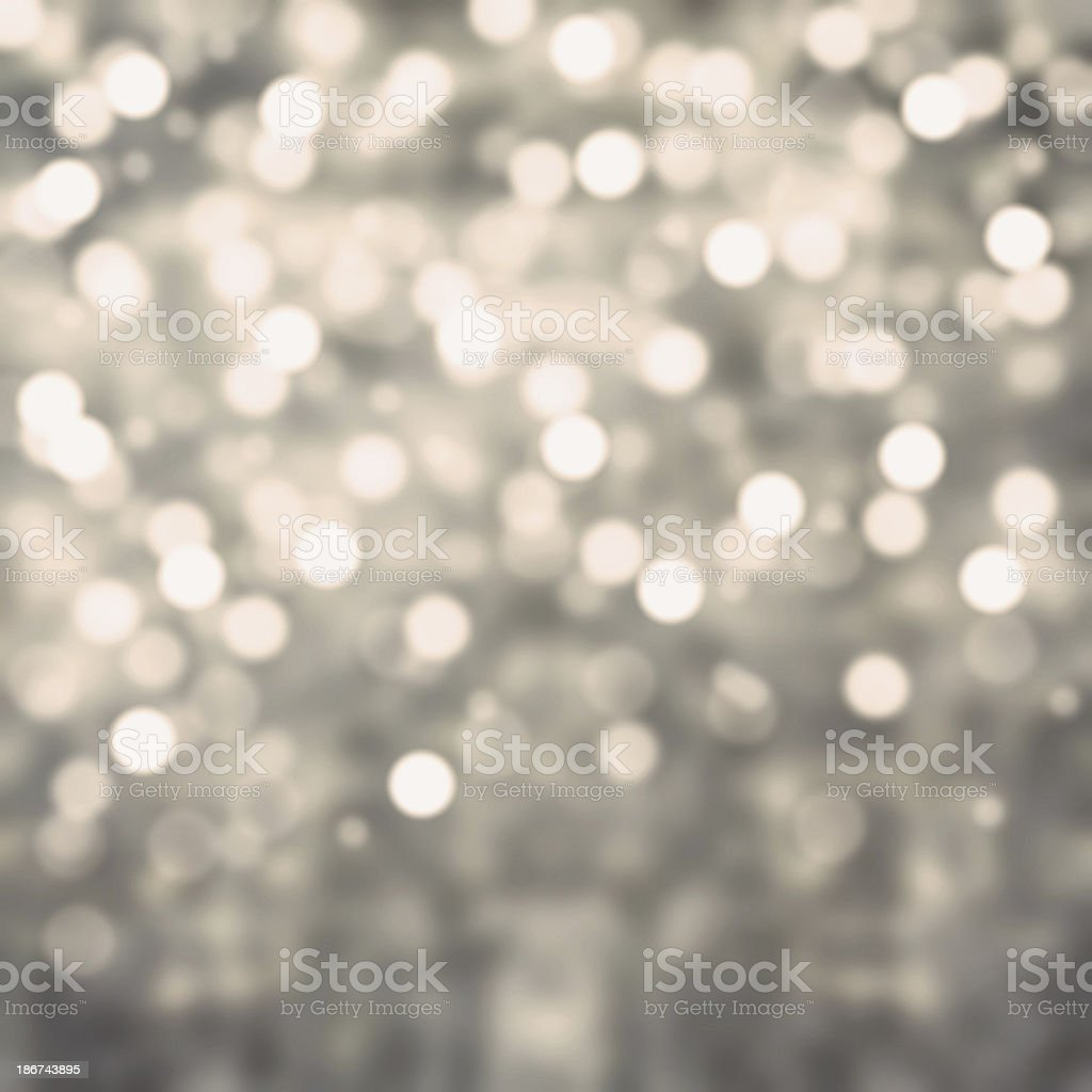 Silver Lights Festive Christmas  background with texture. Abstra royalty-free stock photo