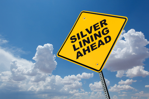 Silver Lining Ahead Stock Photo - Download Image Now