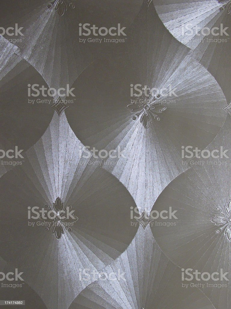 silver luxury wall cover stock photo