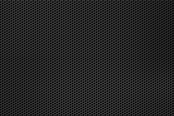silver metal mesh - grid pattern stock photos and pictures