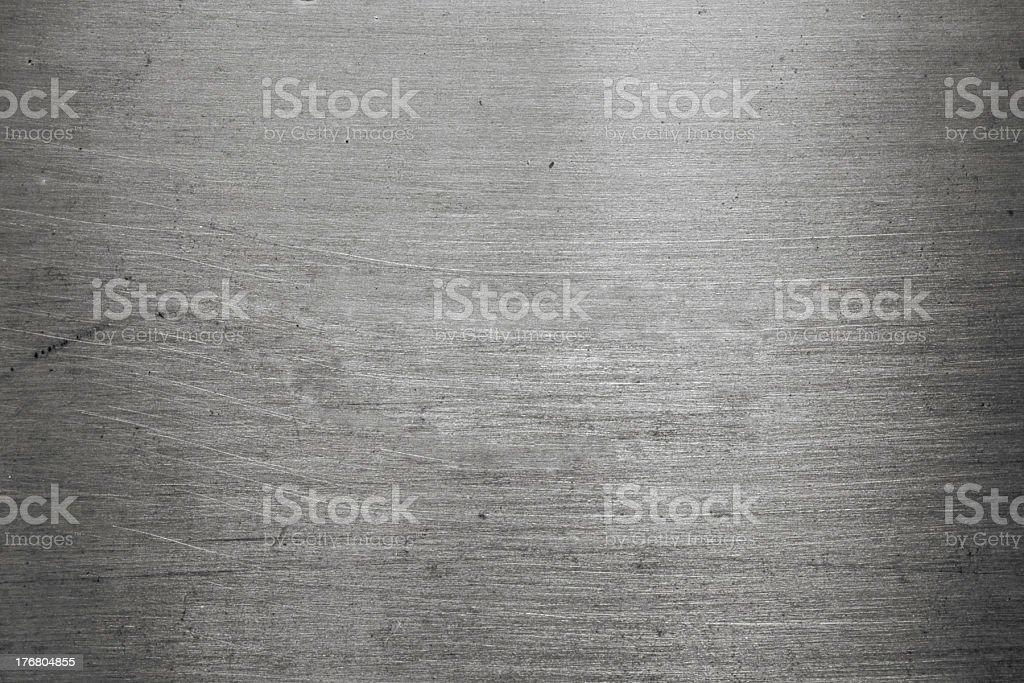 Silver metal (Texture) stock photo
