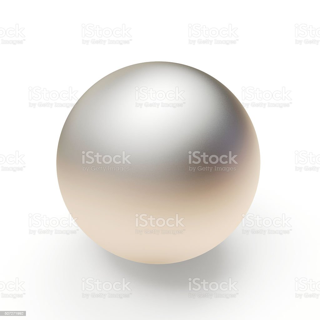Silver metal sphere stock photo