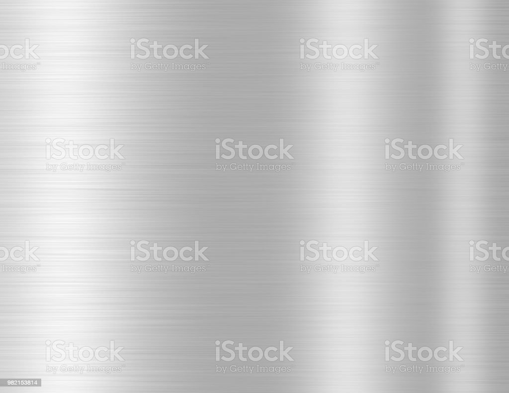Silver Metal Texture Background Stock Photo - Download Image Now - iStock