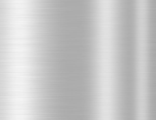 silver metal texture background - steel stock photos and pictures