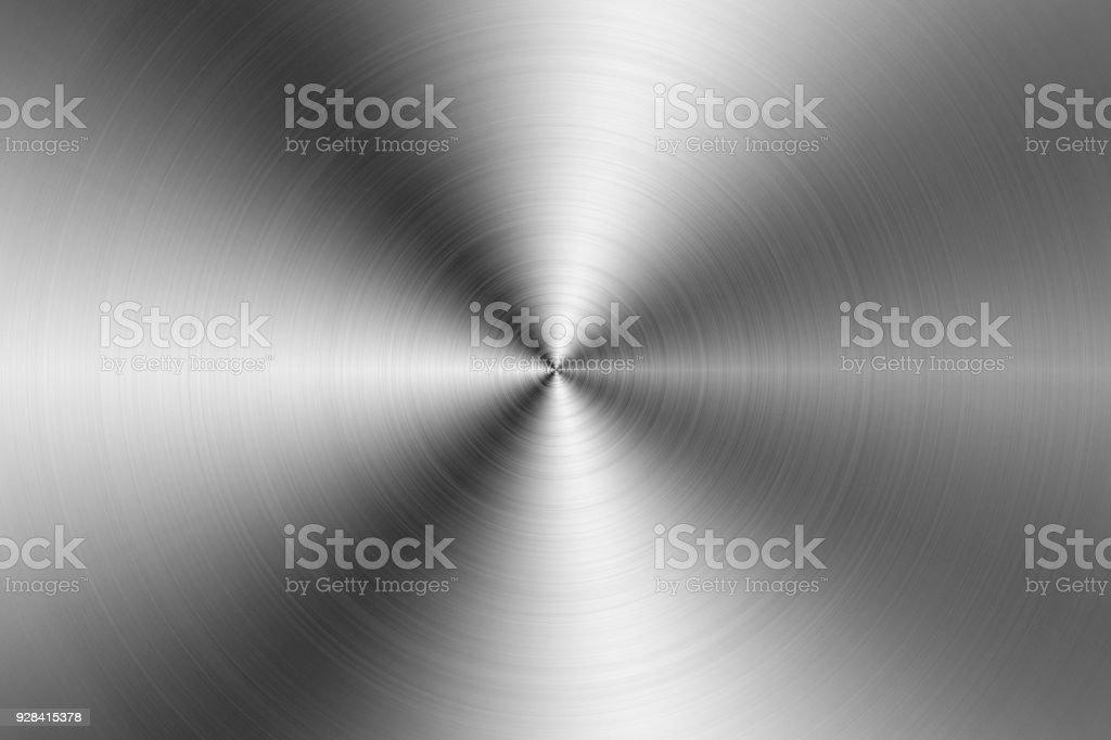 Silver Metallic Background stock photo