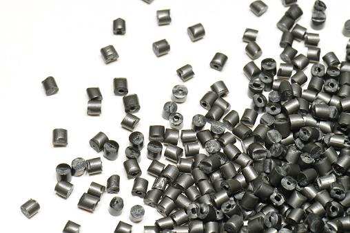 Silber Metallicpolymer Stockfoto und mehr Bilder von Chrom