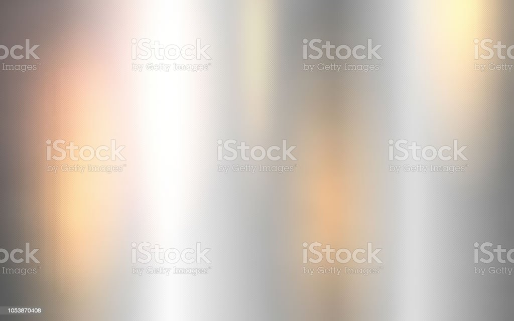 Silver metallic surface, Shiny metal sheet. royalty-free stock photo