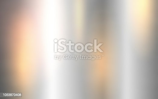istock Silver metallic surface, Shiny metal sheet. 1053870408