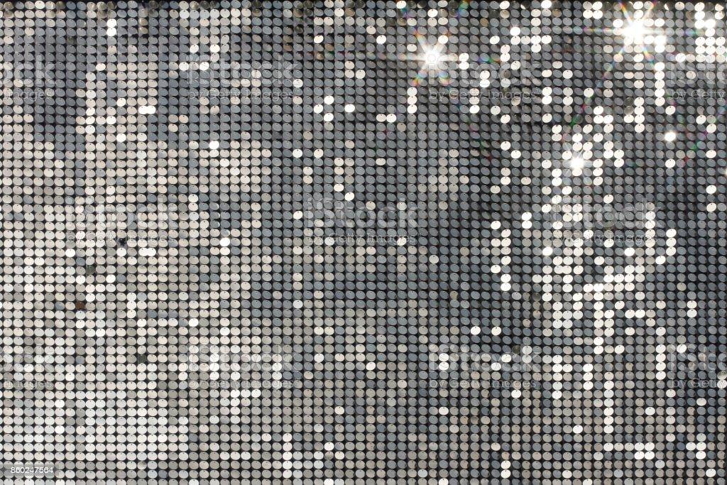 光スポットと星と銀モザイク ロイヤリティフリーストックフォト