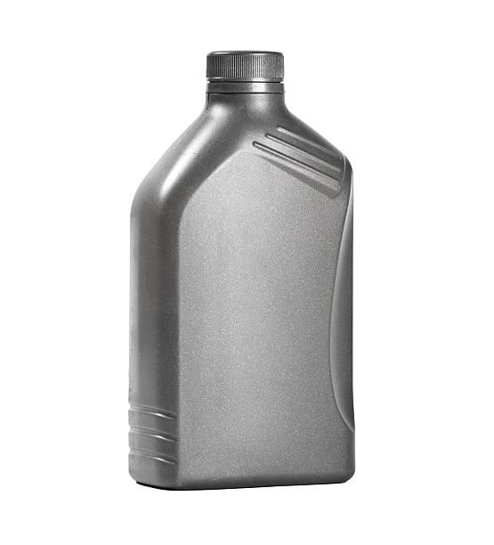 Aceite de motor puede - foto de stock