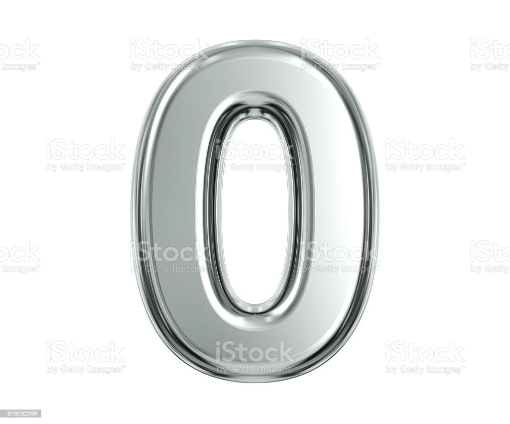 Silver Number 0 - Photo