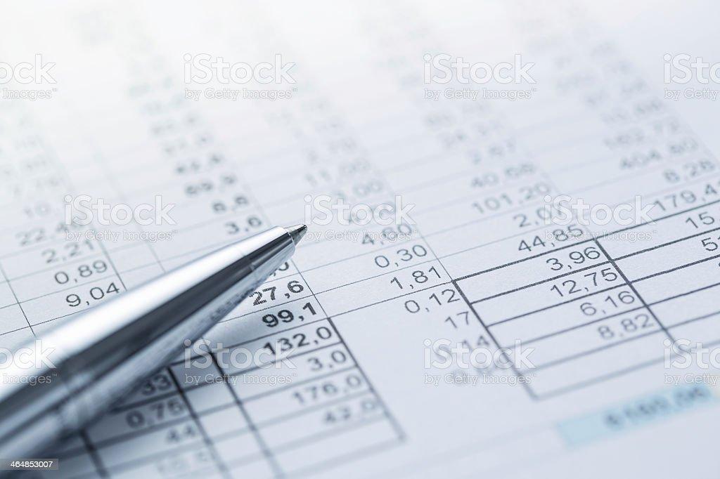 Buchhaltung Lizenzfreies stock-foto
