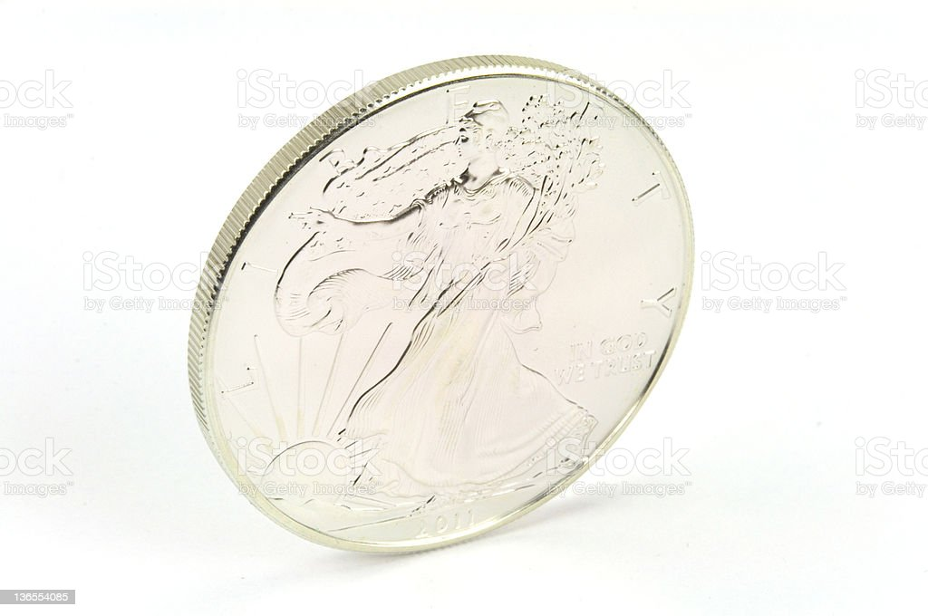 Silver stock photo