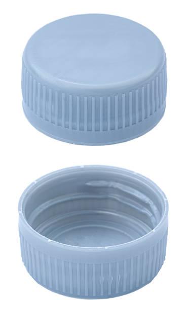 silver plastic bottle caps - plastic cap stock photos and pictures