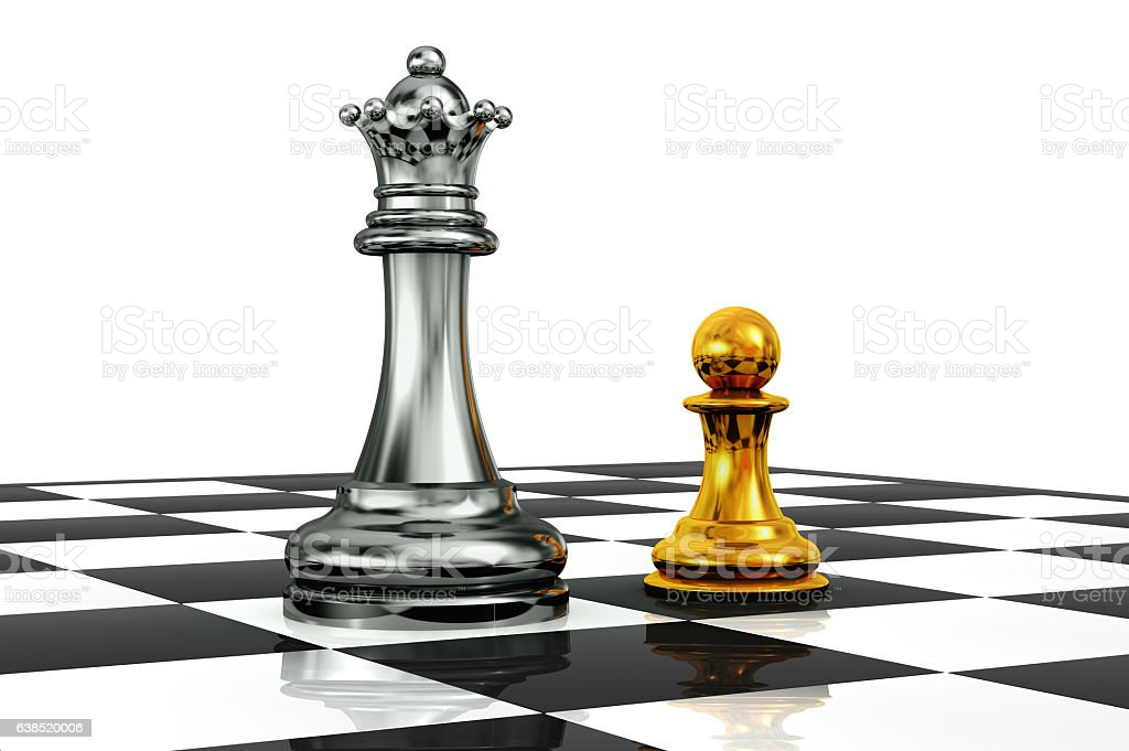 Queen Vs Pawn