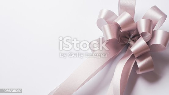 istock silver ribbon in vintage color style for shopping , anniversary , new year , Christmas and celebration concept background 1066235050