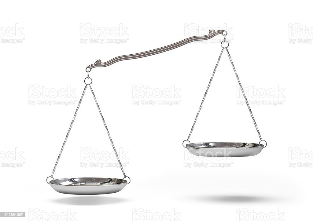 Silver scales stock photo
