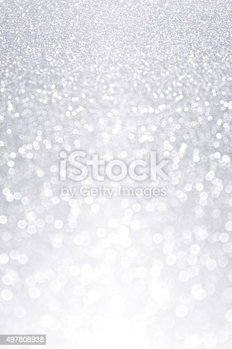 istock Silver Shiny Ice Sparkle Party Invite Background 497808938