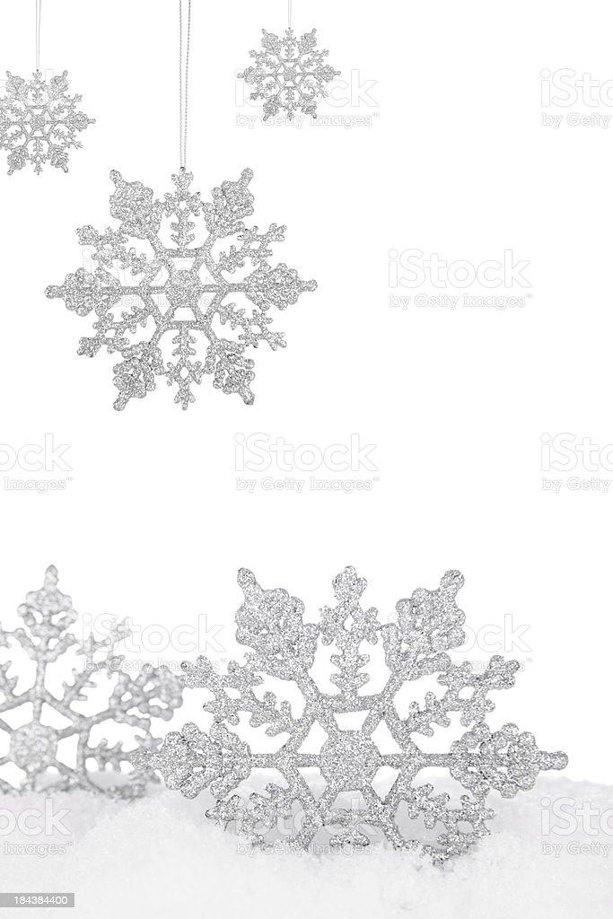 Silver Schneeflocken – Foto
