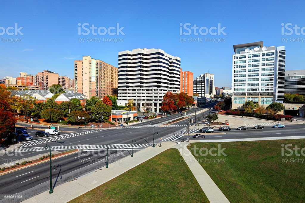 Silver Spring, Maryland stock photo