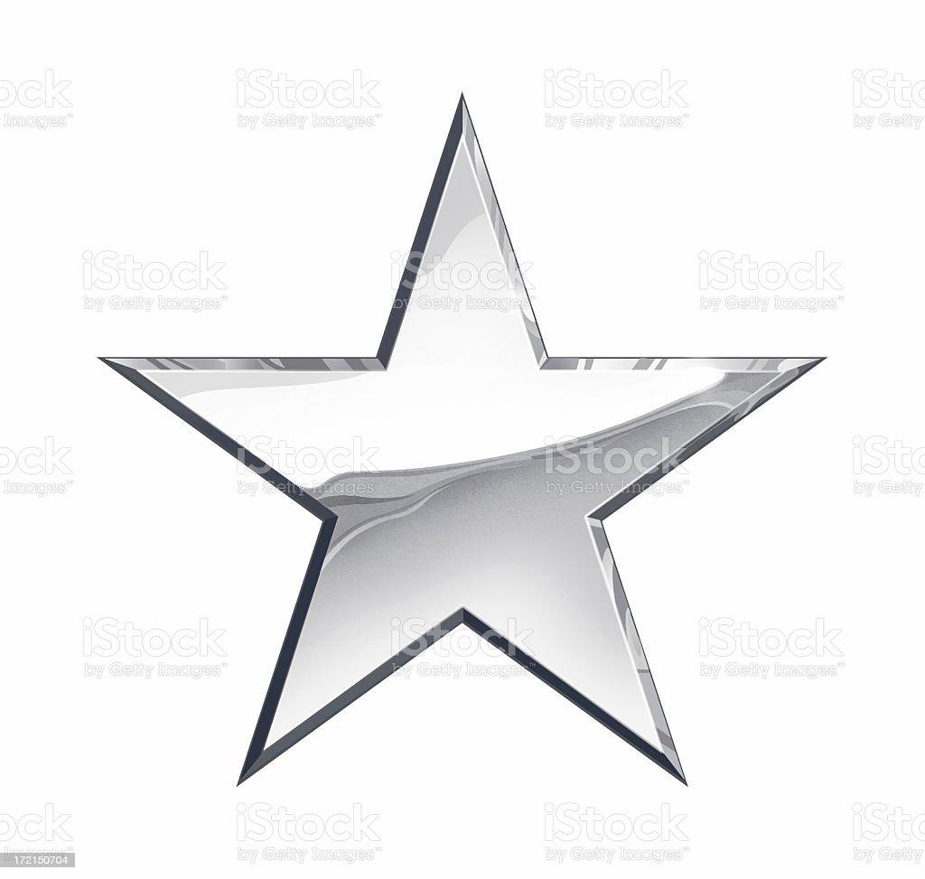 Silver Star stock photo