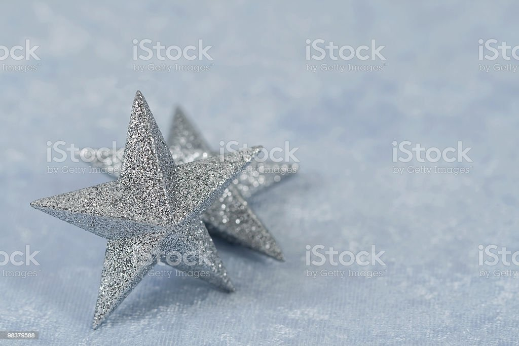 Argento Star foto stock royalty-free