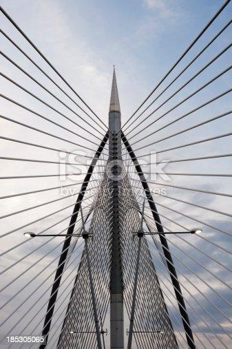 istock silver steel bridge 185305065