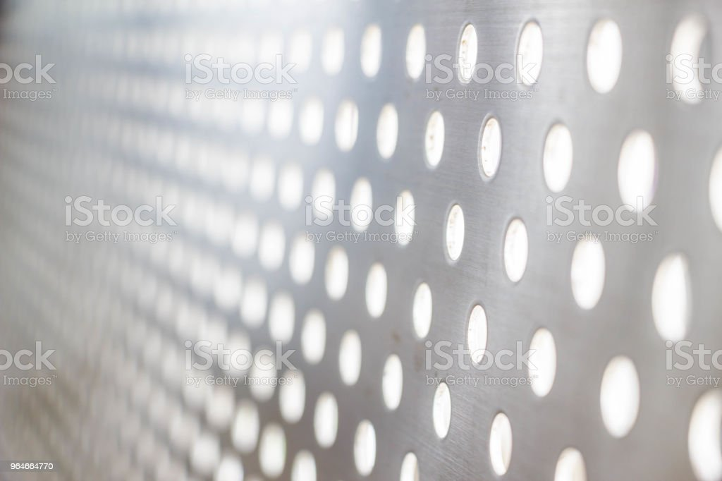 silver steel metallic hole texture royalty-free stock photo