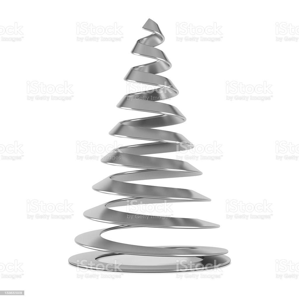 Alberi Di Natale Stilizzati Immagini.Albero Di Natale Stilizzato Argento Fotografie Stock E Altre Immagini Di Abete Istock
