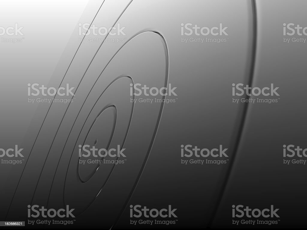 silver target royalty-free stock photo