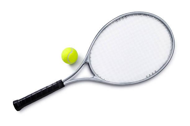 Silver Raquette de Tennis et balles - Photo