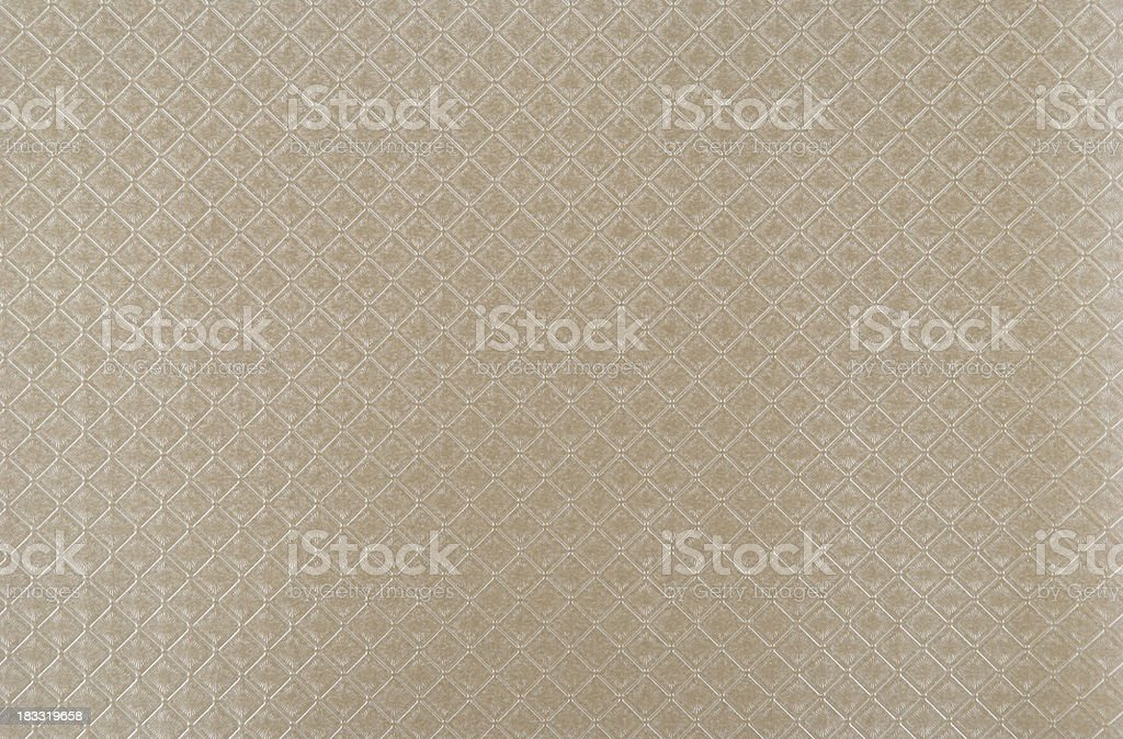 Silver wallpaper with quadrangle pattern royalty-free stock photo