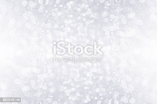 istock Silver White Glitter Sparkle Background Design 882548148