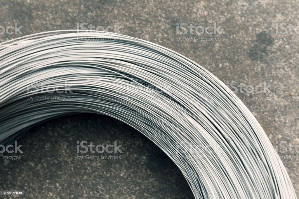 Silberdraht Spule – Foto