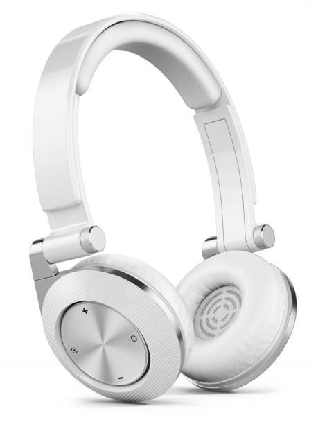 Silber drahtlose Kopfhörer – Foto