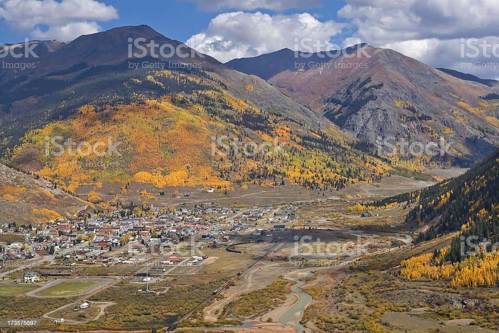 Silverton, Colorado stock photo