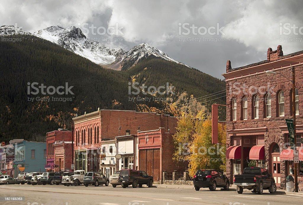 Silverton, Colorado royalty-free stock photo