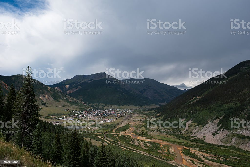 Silverton Colorado stock photo