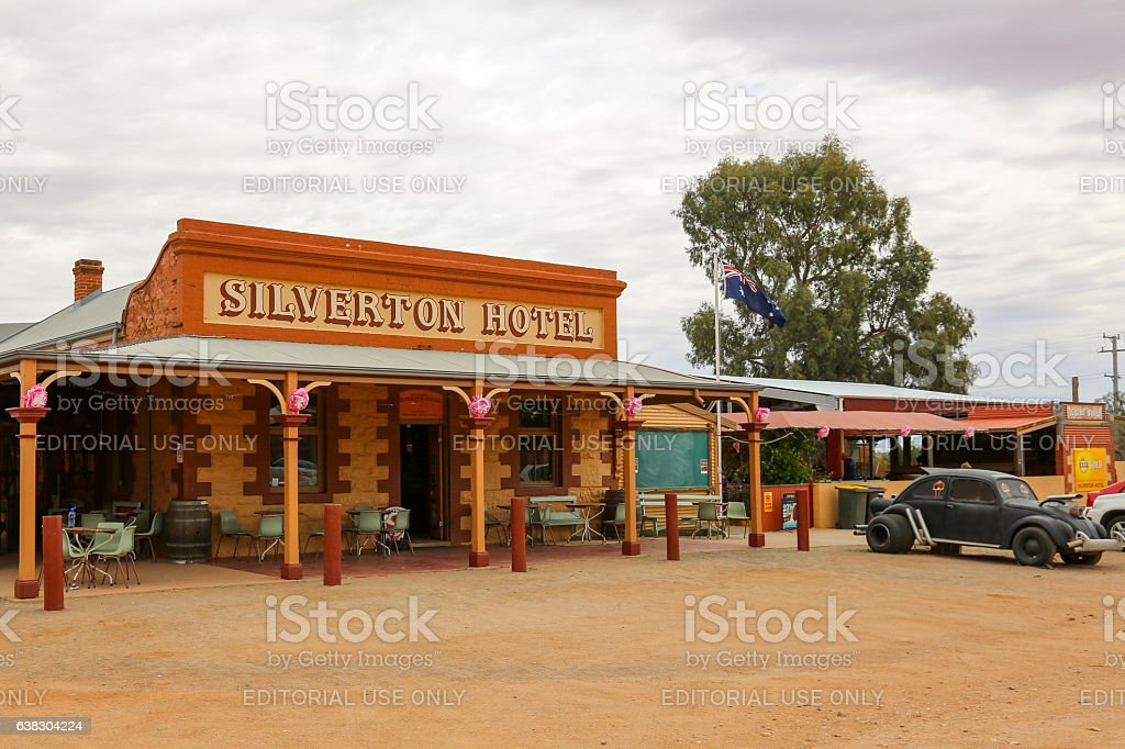 Silverton Hotel stock photo