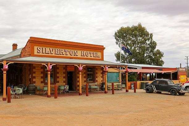 Silverton Hotel stock photo