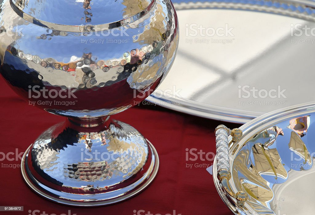 Silverware royalty-free stock photo